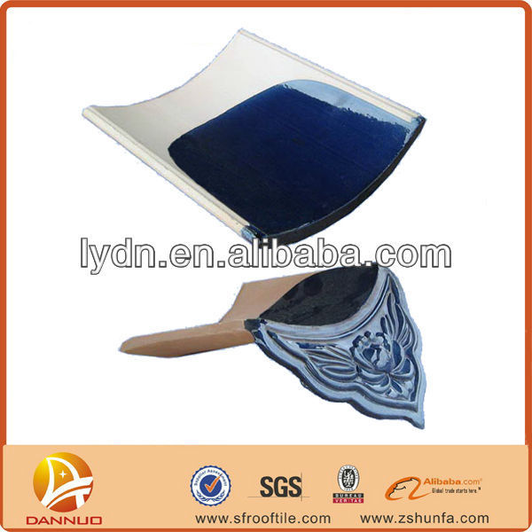 China full set glazed roofing tile for private gardens