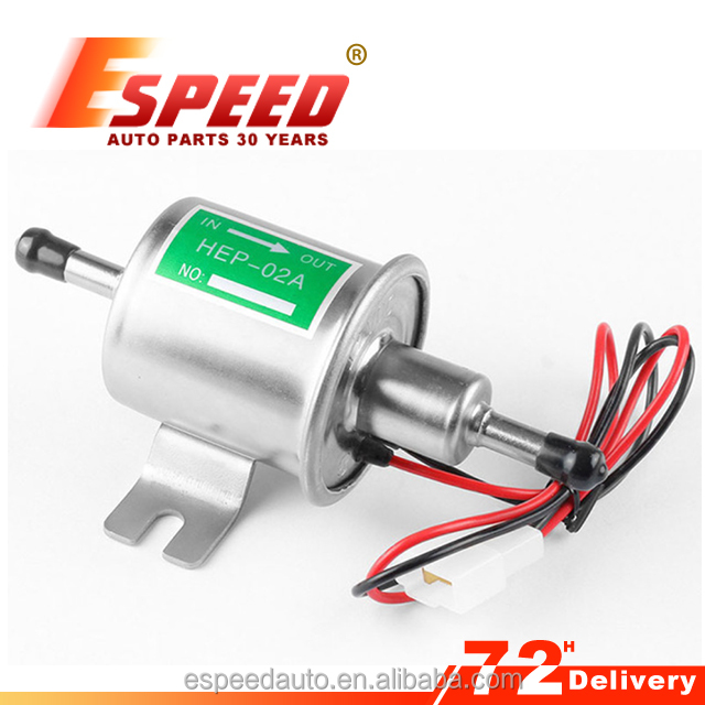 12V Low Pressure Electric Fuel Pump HEP-02A HEP02A Diesel Gas Fuel Oil Universal Car