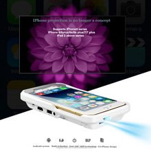 Latest g6 DLP1080P high-definition mini led iphone mobile phone projector