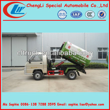 2500L mini sealed garbage truck,Hermetic Garbage Truck