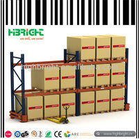Warehouse storage racking shelf