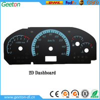 Custom Polycarbonate Panel Speedometer Dashboard