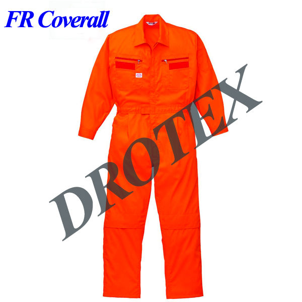 Cotton/Polyester Fire Resistant Protective Clothing