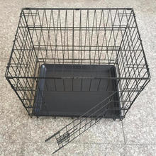 Different sizes foldable iron wire dog crage house pet kennel cage