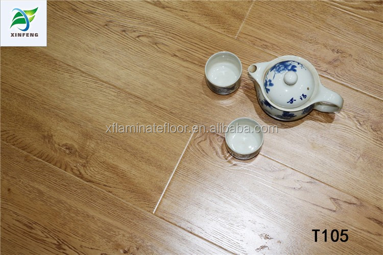 Synchronized surface laminate flooring fire resistant laminate flooring12mm