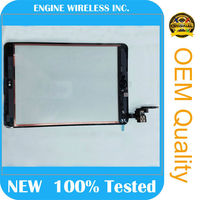 for iPad mini 3 Digitizer with Connector IC Complete Assembly Home button Flex Cable