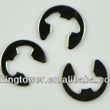 E clip retaining lock washer