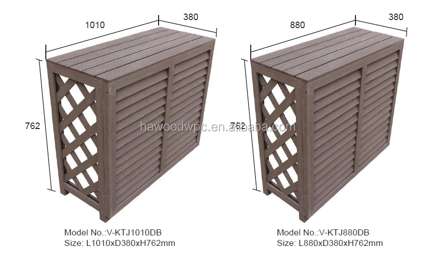 High Quality Wood Plastic Composite Wpc Decorative Air