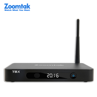 OEM zoomtak T8X kodi 16.1 support 4K2K external antenna android tv box