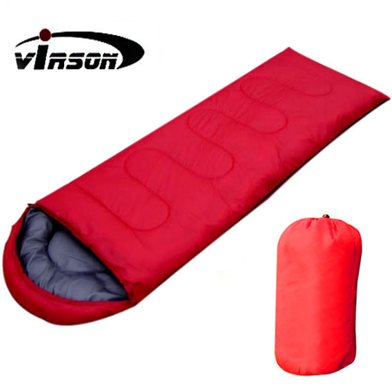 winter warmth thicken camping outdoor double sleeping bag