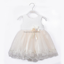 New Girl Kids Formal Weddings Party Simple Flower Girl Dress D041