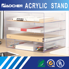 Custom Display Stands Accessories Wholesale Acrylic Cell Phone Charger/Mobile Charger Display Case
