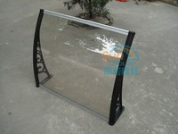 outdoor canopy, polycarbonate awning, plastic rain door cover