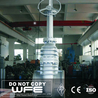 API Cast Steel WCB Flanged Gate Valve