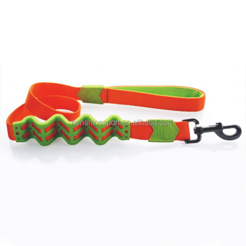 handled spring loaded dog leash fix retractable