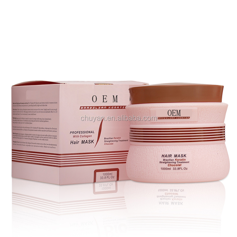 professional keratin collagen hair mask for