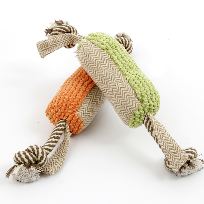 Pet Dog Plush Hemp Animal Chew Toy Dog Rope Toy