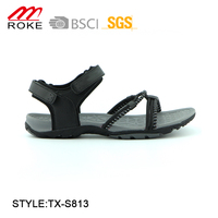 Hot sale popular woman hiking sport beach webbing sandals