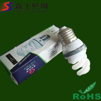Zhongshan Factory Energy Saving Full / Half Spiral Lamp 15W Wattage OEM
