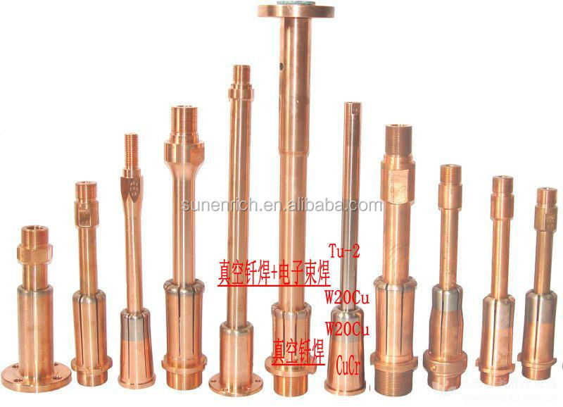 tungsten(W) and tungsten copper(WCu) work as Resistance Welding Electrode