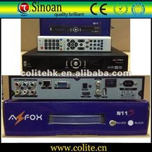 Dvb S2 Receiver,Azfox N11s,With Full HD 1080P, Support Internet Sharing, Support Dongle