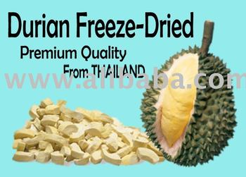 Thailand Durian Monthong Freeze-Dried