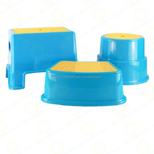 anti-slip plastic bathroom step stool toilet stool