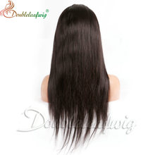 Middle part factory price cheap brazilian hair Glueless V part lace front wig remy human hair lace wig in wigs under 100