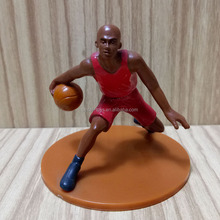 Collectible Best Sale Custom Make 2.5 inch Mini Basketball Football Soccer Player Action Figure