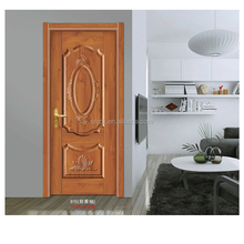 wooden grain PVC faced MDF cheap interior folding doors