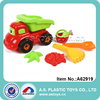 6 pieces sand set watering can and model children beach toy truck