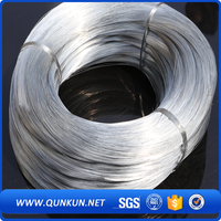 BWG16 electro galvanized steel wire /18 gauge electro galvanized steel wire