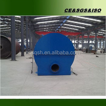 New design 10 tons vacumm plastic oil recycling machine into diesel