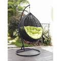 Balcony patio Rattan hanging swing chair