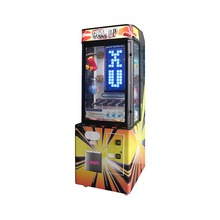 high quality hot new pile up stacker prize game arcade claw machine