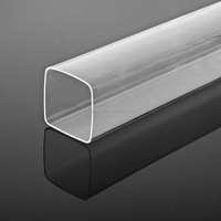 high transparency and quality 50mm acrylic plastic tubes