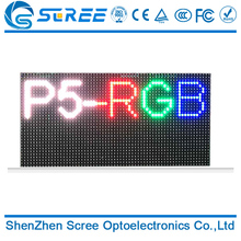 Customized full color led matrix p5 outdoor rgb led module