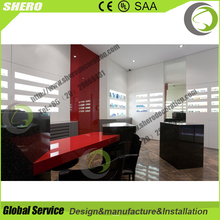 High grade optical shop counter design