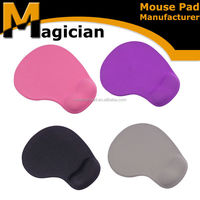 Rubber bean bag wrist rest arm mouse pad