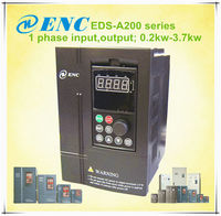 Mini EDS-A200 series 3.7kw frequency inverter for single phase motor