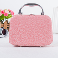 New style korean makeup bag Mulfunctional stone pattern hand-held cosmetic bag