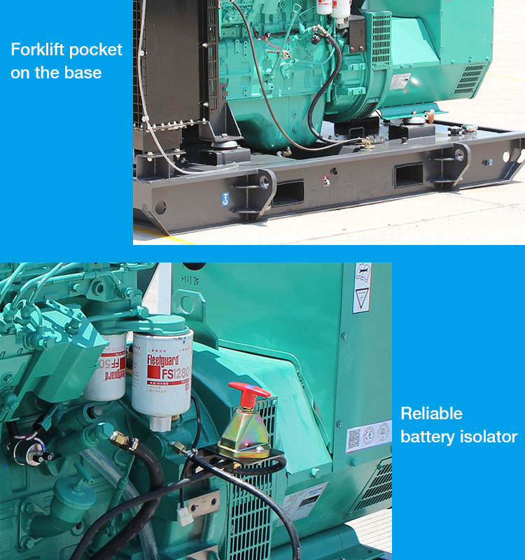 Global Warranty Diesel power generator trailer mounted generator