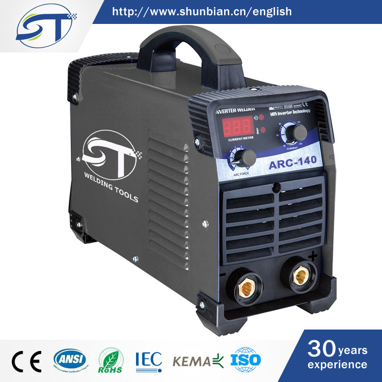 ARC 140 Series New Model Machine Tool Equipment 5 KVA 3 Phase Arc Welding Equipment