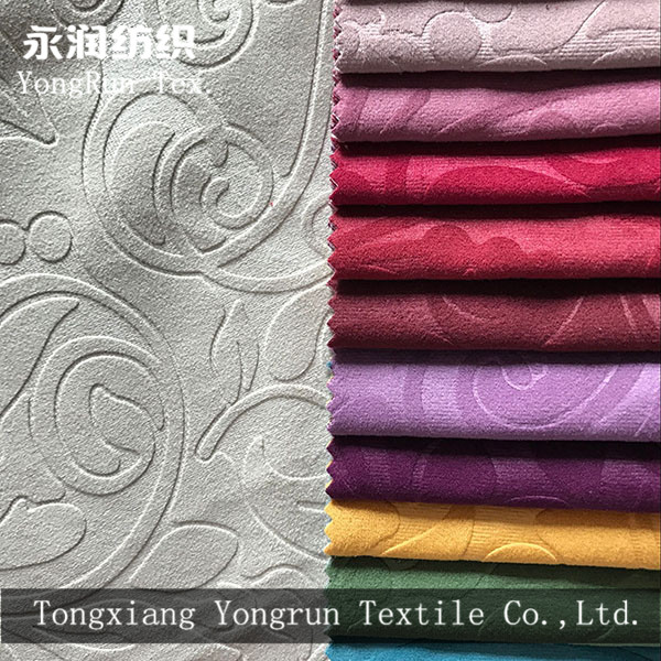 textile fabric importers embossed fabric for sofa in dubai market