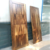 China factory wooden single main door design 100% walnut natural color flush door for decoration