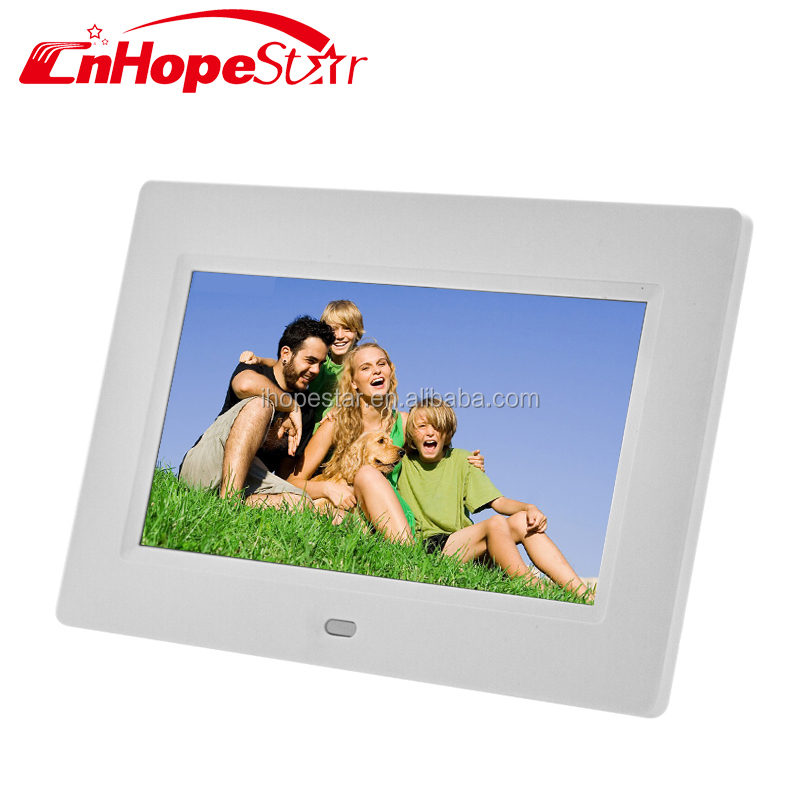 Black/White/Display 7 inch LCD screen High quality Digital Photo Frame