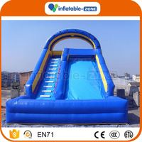 Good quality wholesale backyard inflatable slides for kids inflatable slide and slip fastest delivery