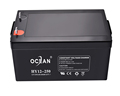 Ocean high capacity 12v 250ah deep cycle gel battery for inverter with good price
