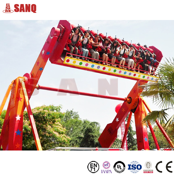 Thrilling Fairground Rides 20 Seats Space Travel ride top spin ride for sale