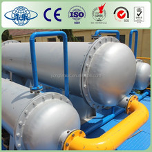 Small Scale Waste Tire/Plastic Recycling to Oil Pyrolysis Machine for Sale